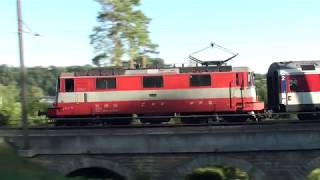 Download Bahnverkehr am Rheinfall Video