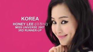 Download 미스유니버스 KOREA 2007 (이하늬 HONEY LEE) Video