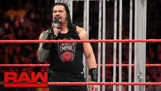 Download Roman Reigns gets his U.S. Title rematch: Raw, Jan. 23, 2017 Video