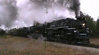 Download PM #1225 & NKP #765 - Alma to Cadillac, MI. - Oct. 2009 - FULL VIDEO Video