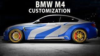 Download NFS 2015 - BMW M4 (NFS NL version)(Speed Art / Customization)(PC) Video
