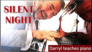 Download ″Silent Night″ Piano lesson for beginners Video