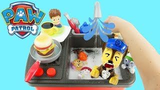Download kitchen sink with paw patrol pups Video