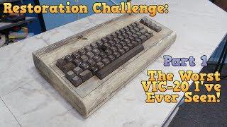 Download Restoration - The Worst VIC-20 I've ever seen - Part 1 Video
