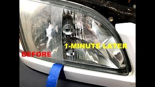 Download How MOMMA Repairs Headlights to NEW in 3 Minutes Video