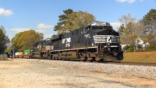 Download NS 291 heads south in Stockbridge, Ga. Video