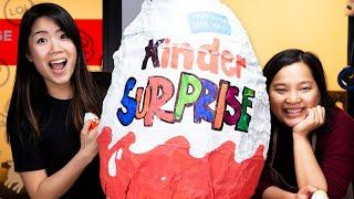 Download We Tried Making A 30 Pound Kinder Egg Video