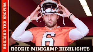 Download Legend Jim Brown Welcomes Baker Mayfield, Nick Chubb & More to Rookie Camp | Building the Browns Video
