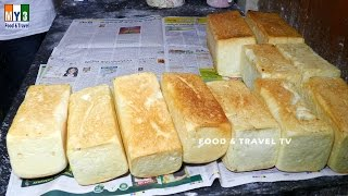 Download HOW TO MAKE BREAD | MAKING OF BREAD | INDIAN BEKARY FOOD Video