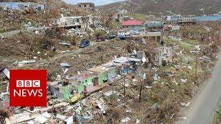 Download Hurricane Irma wreaks havoc in British Virgin Islands - BBC News Video