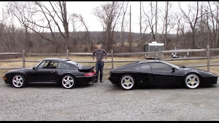 Download Ferrari 512TR vs. Porsche 911 Turbo: 1990s Battle! Video