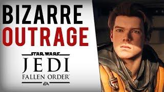Download Ubisoft Dev, Game Journalists TRASH Star Wars Jedi Fallen Order For ″Generic White Male Protagonist″ Video