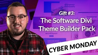 Download Exclusive Divi Cyber Monday Gift #3: The Software Divi Theme Builder Pack Video