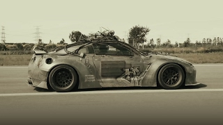 Download Elysium Liberty Walk GTR X Fi Exhaust -Walking dead Godzilla !!! Video