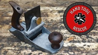 Download 1899 Stanley No. 112 Scraper Plane [Restoration] Video