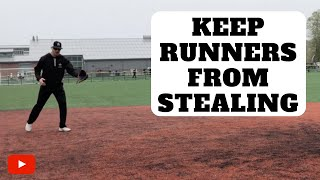 Download How To Keep Base Runners From Stealing Video