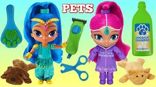 Download Shimmer & Shine Feeding & Grooming Pet Care Play Set Video