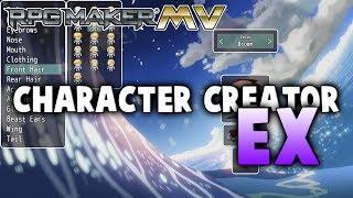 Download Character Creator EX Plugin - RPG Maker MV Video