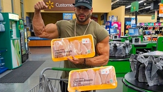 Download SAVE MONEY !! | CHEAP BODYBUILDING DIET GROCERY SHOPPING Video