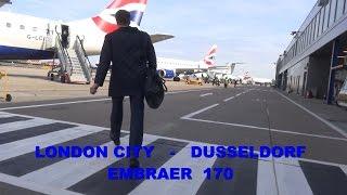 Download British Airways : London City - Dusseldorf Embraer 170 March 2017 Video