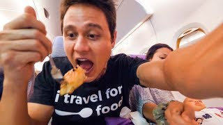 Download Emirates Airline FOOD REVIEW - Bangkok to Dubai to Munich | Layover at Dubai International Airport Video