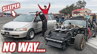 Download I Lost To a FREAKING MINIVAN! It Was a 150mph SLEEPER! Video