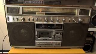 Sanyo C9 Boombox Review and Speaker Swap Free Download Video