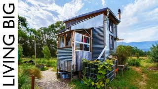 Download Incredible Salvaged Off-Grid Tiny House On Permaculture Farm Video