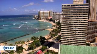 Download FLIR DNZ30TL2R 30x PTZ IR Speed Dome IP Camera - Hawaii Beach Video