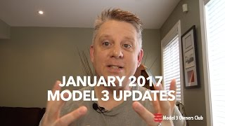Download January Model 3 Updates | Model 3 Owners Club Video