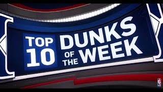 Download Top 10 Dunks of the Week: 11/20/16 - 11/26/16 Video