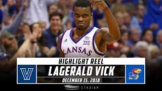 Download Lagerald Vick Highlights: Villanova-Kansas 2018 | Stadium Video