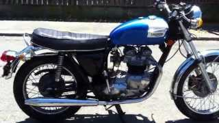 Download 1973 Triumph Tiger 750 - Walkaround and ride Video