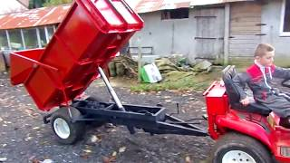 Download Remorque pour micro tracteur Video