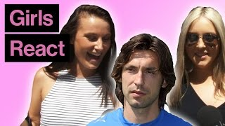 Download Girls React To Andrea Pirlo With And Without Beard Video