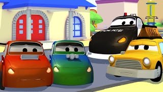 Download 2 bad Racing Cars and Car Patrol fire truck and police car | Cars & Trucks cartoon for children Video