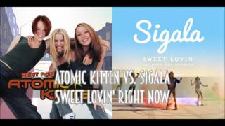Download Atomic Kitten vs. Sigala - Sweet Lovin' Right Now (SimGiant Mash Up) Video