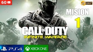Download Call of Duty Infinite Warfare - Mision 1 Español Gameplay PS4 | Campaña Parte 1 (1080p 60fps) Video