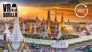 Download Discover Bangkok: A Guided City Tour (360 VR Video) Video