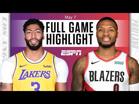 Los Angeles Lakers vs. Portland Trail Blazers   Full Game Highlights
