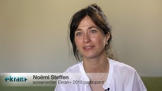 Download EKRAN+ 2019: Interview with Noemi Steffen, writer of ″Palace″ Video