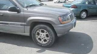 Download Attempt to Drive the Jeep Grand Cherokee With Blown Engine Video