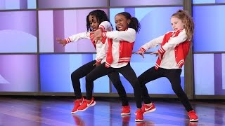 Download A Terrific Dancing Trio Performs! Video