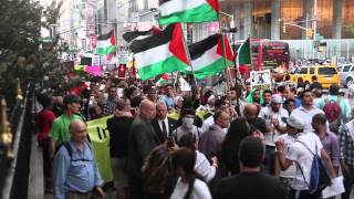 Download Palestine & Israel supporters clash during NYC protest Video