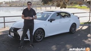 Download 2017 Lexus GS F Test Drive Video Review Video