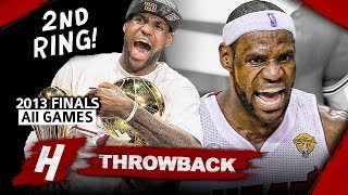 Download LeBron James 2nd Championship, Full Series Highlights vs Spurs (2013 NBA Finals) - Finals MVP! HD Video