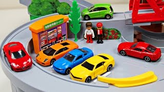 Download Best Toddler Learning Cars Trucks Colors for Kids #1 Teaching Colours Tomica Mountain Drive Video