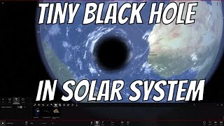 Download What If the Smallest Black Hole Entered the Solar System? Video
