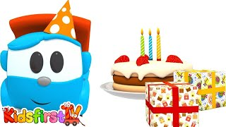 Download Animation for kids. Happy Birthday, Leo the truck! Car cartoon for kids and for children. Video