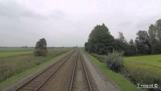 Download Cabinerit sneltrein Leeuwarden - Groningen Video